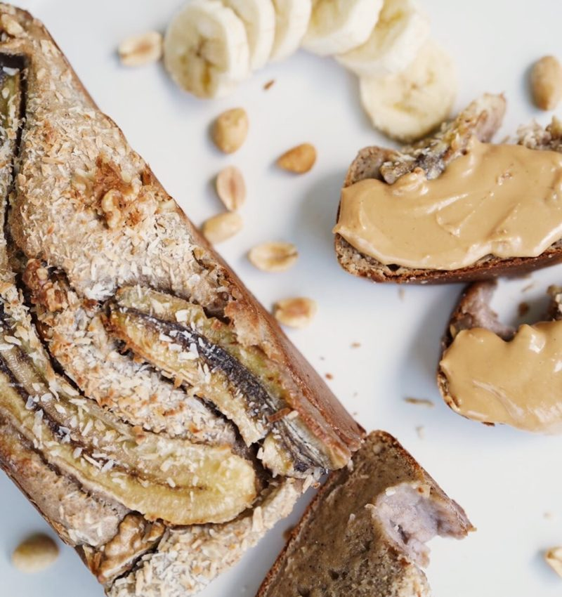 Världens godaste & enklaste bananbröd